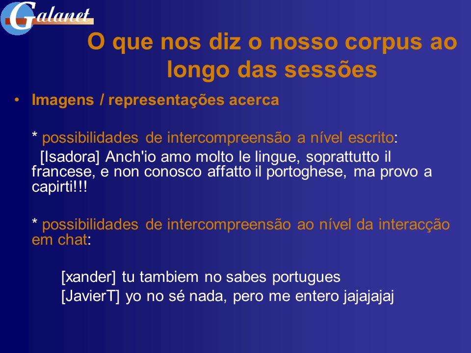 * proximidades entre o Português e as outras LR: [AlexandreA] jejeje.