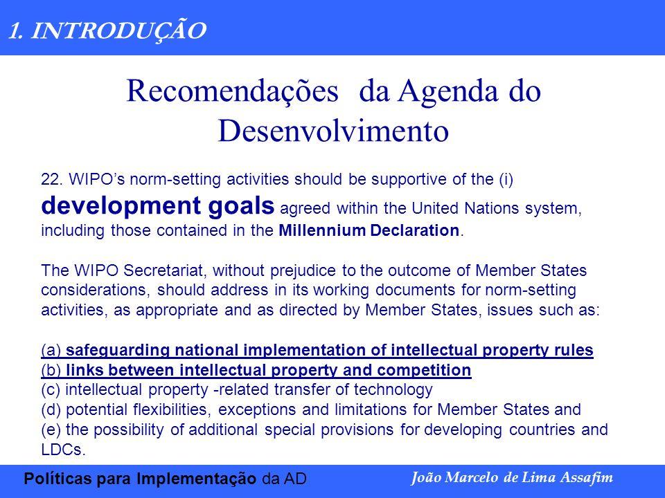 Marco Túlio de Barros e Castro Exploração de patentesJoão Marcelo de Lima Assafim PI E PROMOÇÃO DA INOVAÇÃO INOVAÇÃO TECNOLÓGICA E DINÂMICA DA CONCORRÊNCIA A Propriedade Intelectual é utilizada como um mecanismo de incentivo à inovação, uma vez que possibilita o retorno do investimento no processo de inovação, ao permitir a preservação do conhecimento, a captação e manutenção da clientela (art.