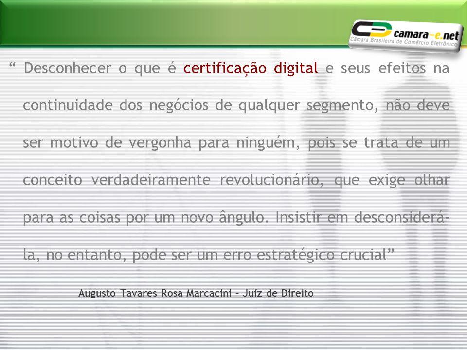 Desconhecer o que é certificação digital e seus efeitos na continuidade dos negócios de qualquer segmento, não deve ser motivo de vergonha para ningué