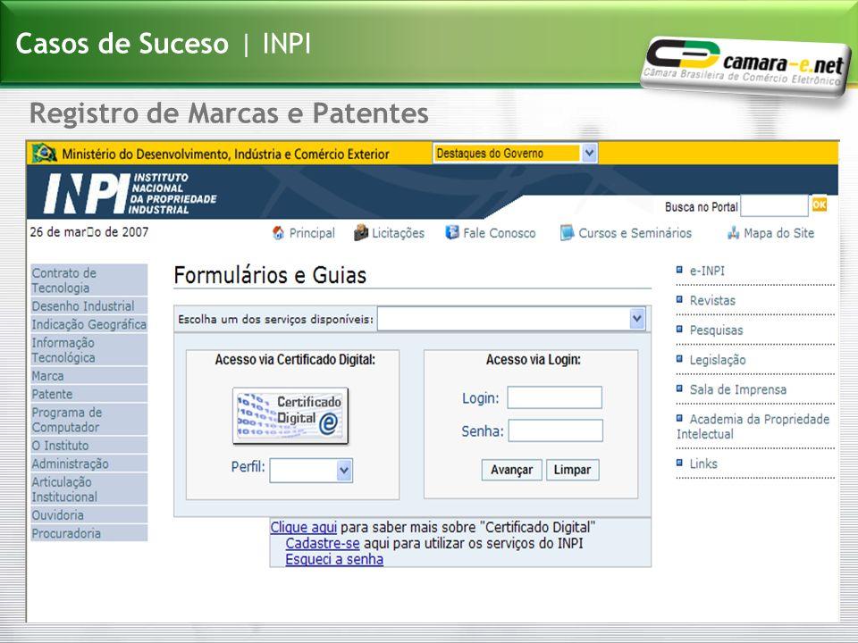 Registro de Marcas e Patentes Casos de Suceso | INPI