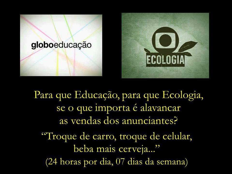 Nestes tempos em que a conscientização ecológica e um consumo responsável se fazem tão essenciais para se evitar tragédias ambientais ainda mais sever