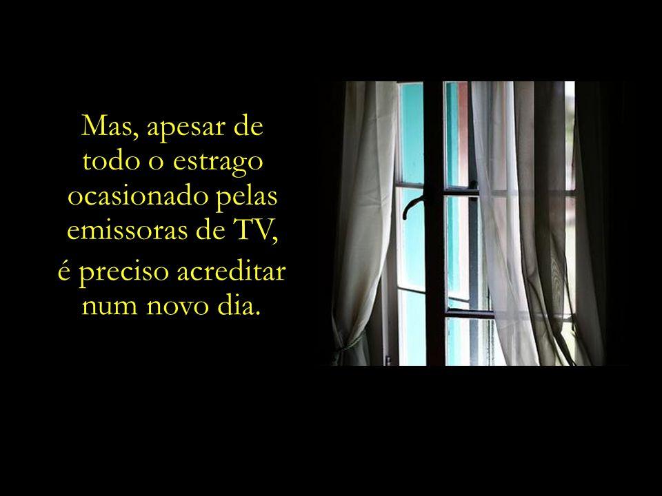 Levando-se em conta que apenas 5% da população no Brasil têm acesso a canais de TV a cabo, é possível constatar o tamanho do estrago provocado pela Re
