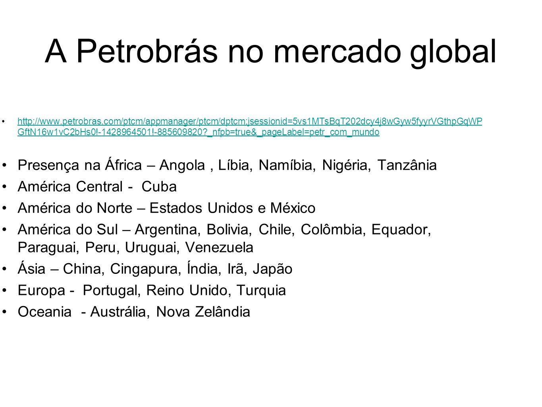 A Petrobrás no mercado global http://www.petrobras.com/ptcm/appmanager/ptcm/dptcm;jsessionid=5vs1MTsBqT202dcy4j8wGyw5fyyrVGthpGqWP GftN16w1vC2bHs0!-14