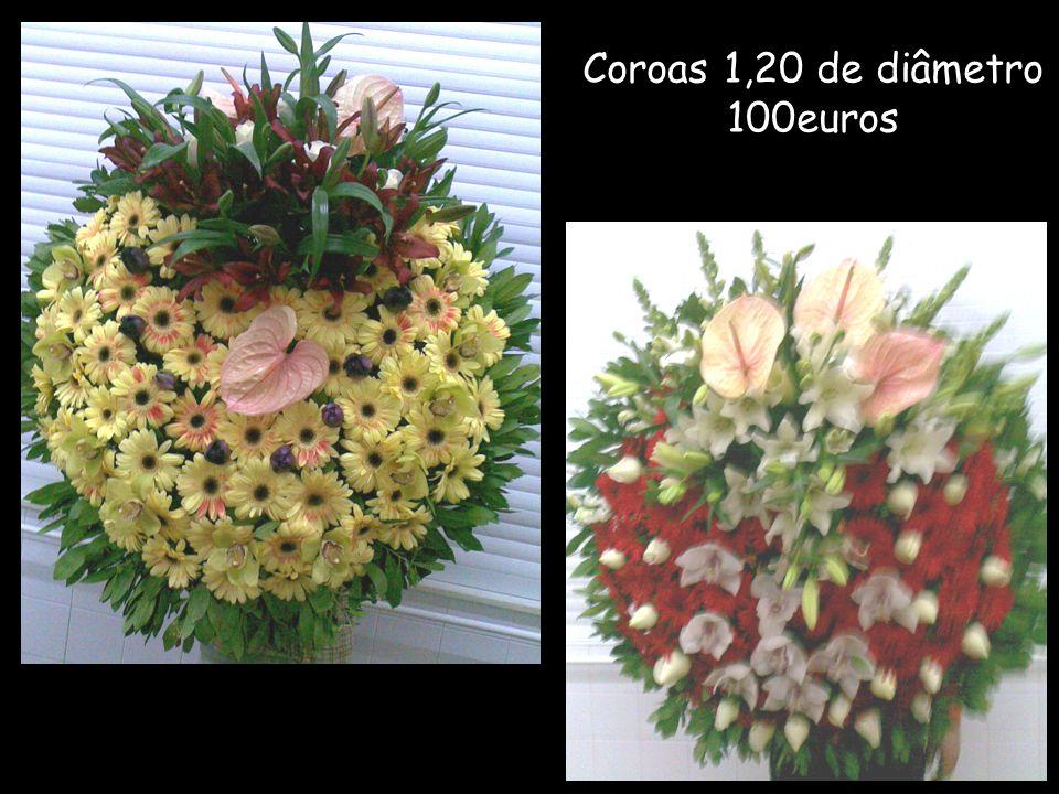 Coroas 1,20 de diâmetro 100euros