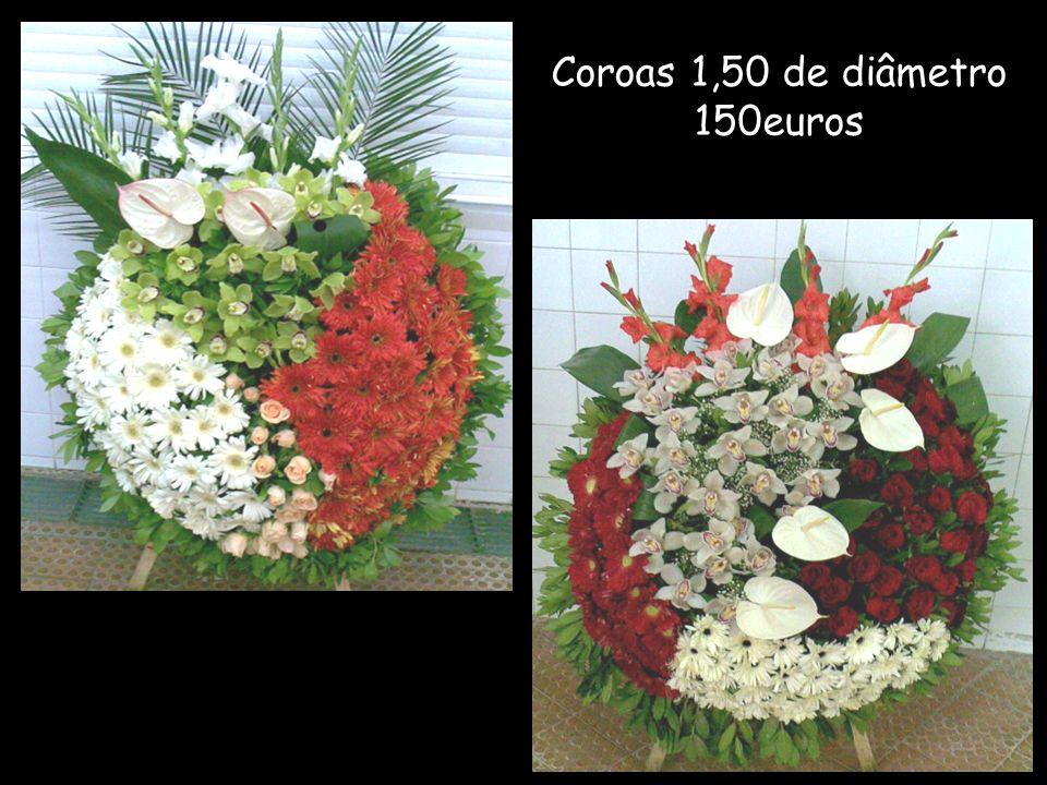 Coroas 1,50 de diâmetro 150euros