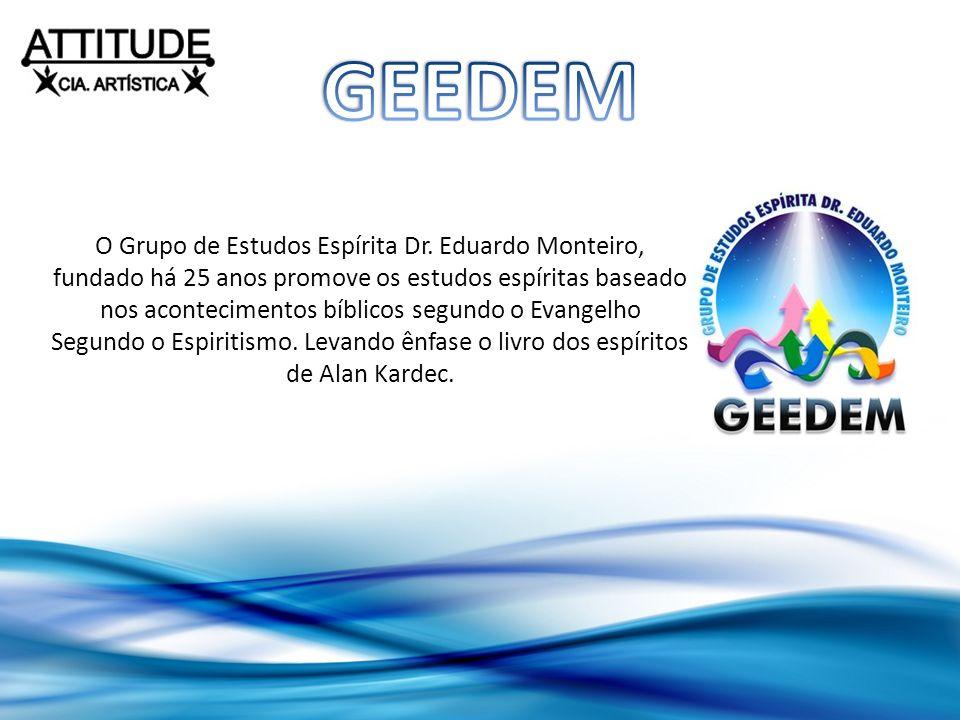 O Grupo de Estudos Espírita Dr. Eduardo Monteiro, fundado há 25 anos promove os estudos espíritas baseado nos acontecimentos bíblicos segundo o Evange