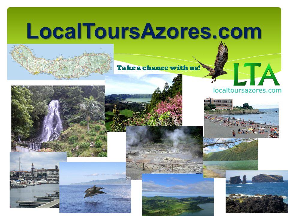 LocalToursAzores.com Half Day Sete cidades- Partida de Ponta Delgada, para a Vista do Rei, parando nos melhores miradouros turísticos.