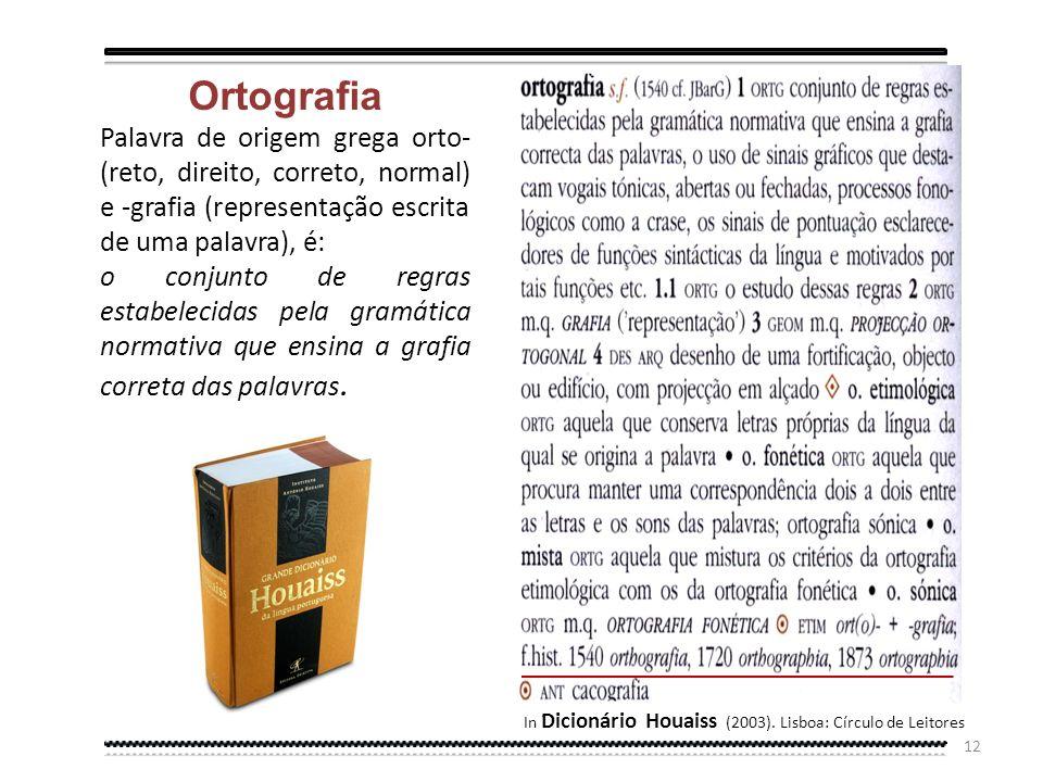 11 Com efeito, a questão ortográfica é um dos capítulos mais atormentados da história linguística portuguesa. Ao contrário do espanhol, que nos fins d