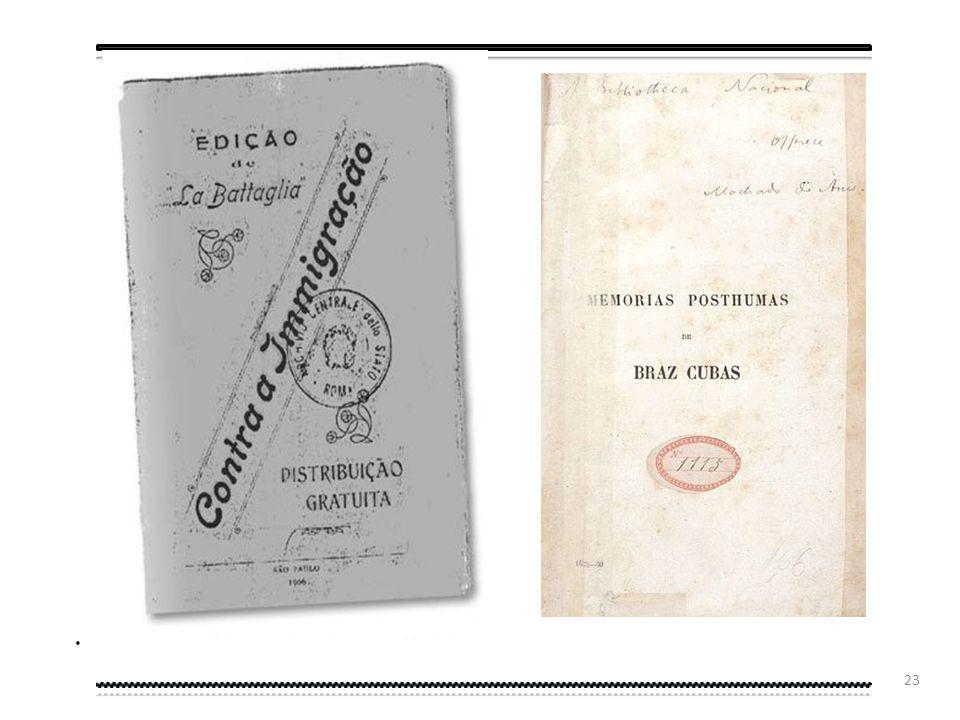 22 Neste documento brasileiro de 1854 pode-se constatar, entre outras coisas, o uso das consoantes duplas..