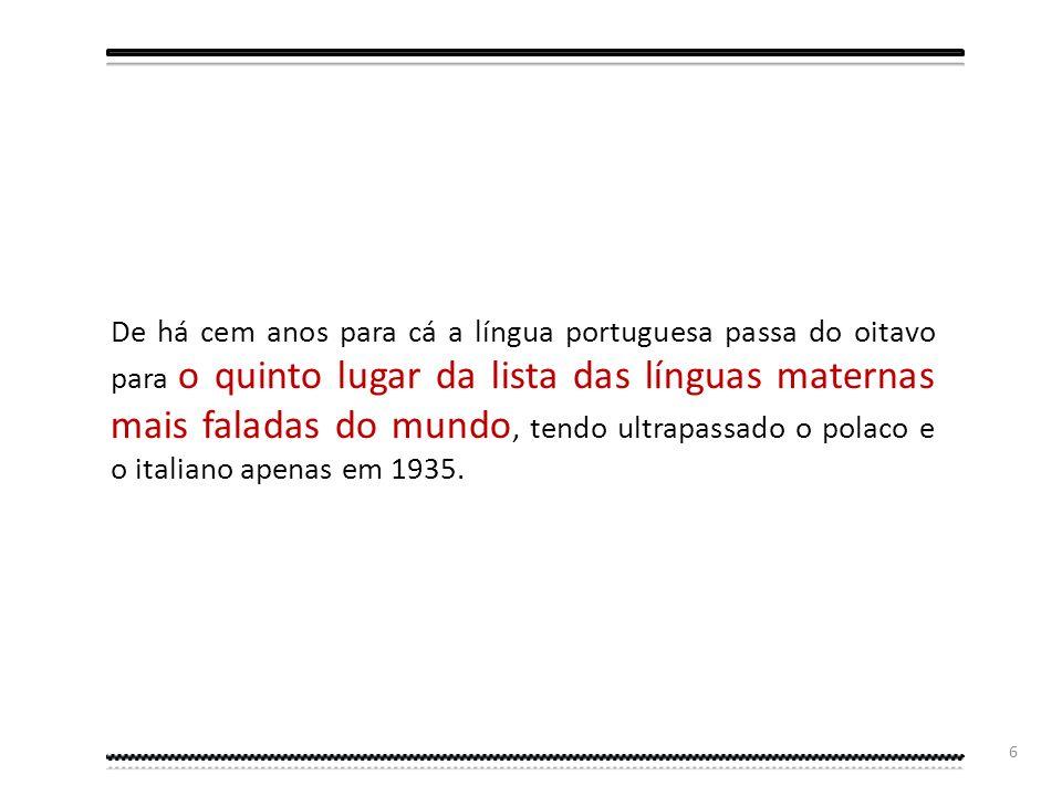 5 Podemos definir o século XVI, como o Século de Ouro Português e, consequentemente, o Século de Ouro da Língua Portuguesa que, então, com cerca de um