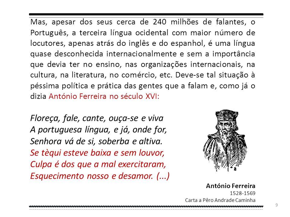 8 Segundo projeções baseadas na evolução demográfica dos oito países de língua oficial portuguesa, o número de falantes pode totalizar 335 milhões em