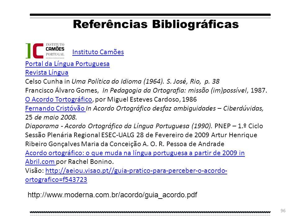 95 http://www.portuguesexacto.pt/ Português Exacto Conversores para o Acordo Ortográfico http://www.flip.pt/FLiPOnline/ConversorparaoAcordoOrtográfico