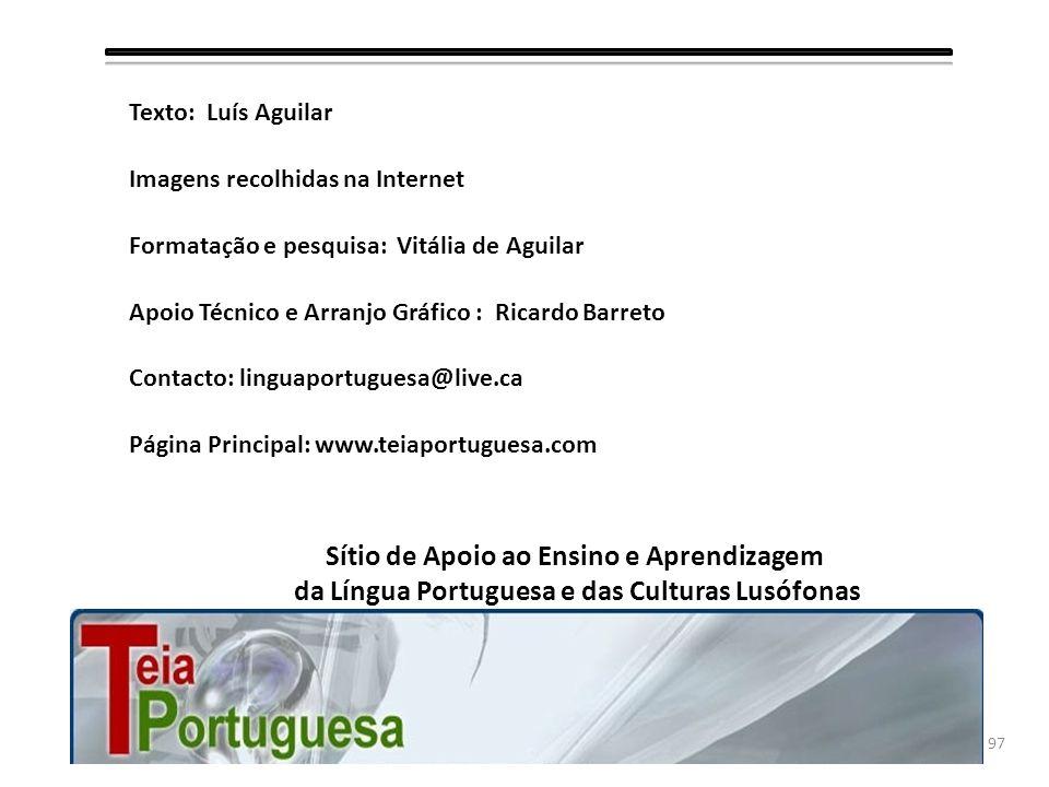 96 Portal da Língua Portuguesa Revista Língua Celso Cunha in Uma Política do Idioma (1964). S. José, Rio, p. 38 Francisco Álvaro Gomes, In Pedagogia d