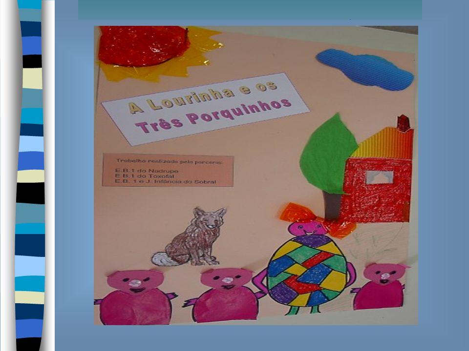 Há muito, muito tempo, no tempo em que os animais falavam, vivia na Lourinhã uma família de porquinhos.