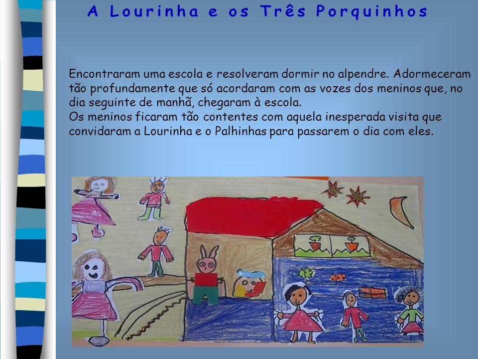 À tarde, depois da escola, o Palhinhas e a Lourinha foram fazer a casa, pois nessa noite já não podiam dormir no alpendre da escola porque o chão era muito duro.