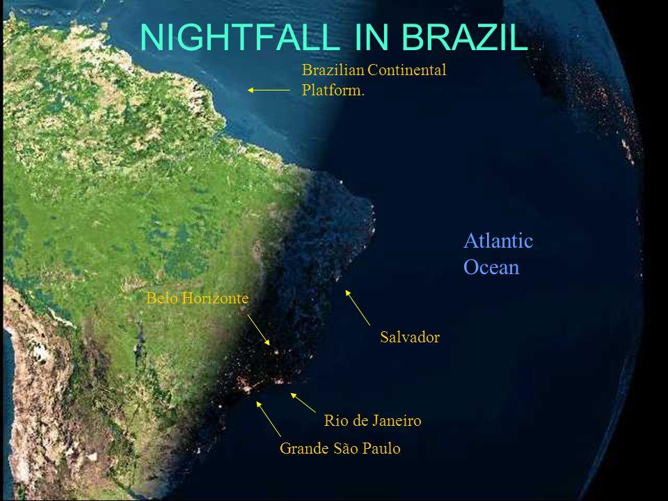 France Iceland Italy ContinentalPlatform England ÁFRICA Already night time here. Spain Atlantic Ocean Cabo Verde Island Canary Islands Islas de la Mad