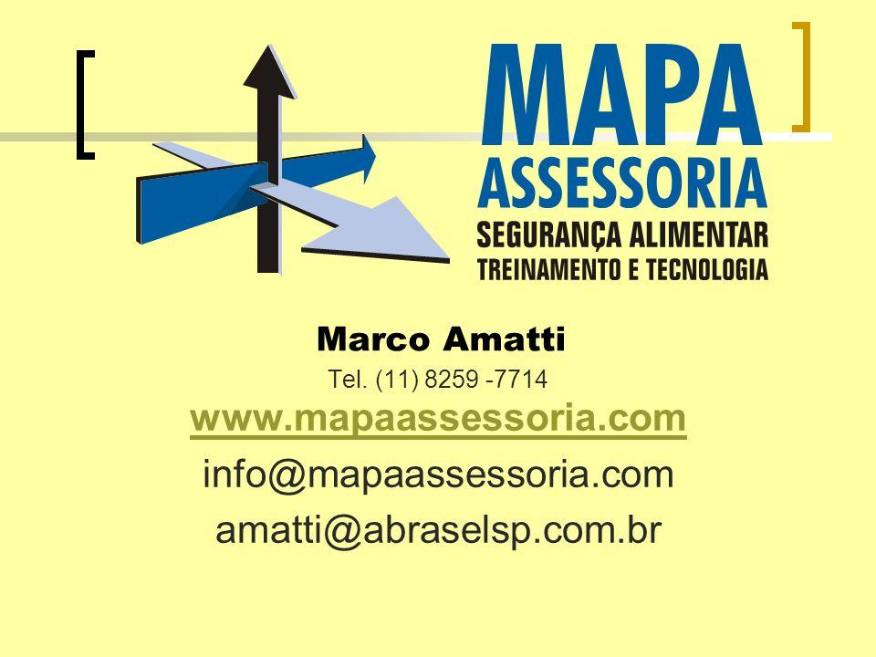 Marco Amatti Tel. (11) 8259 -7714 www.mapaassessoria.com www.mapaassessoria.com info@mapaassessoria.com amatti@abraselsp.com.br
