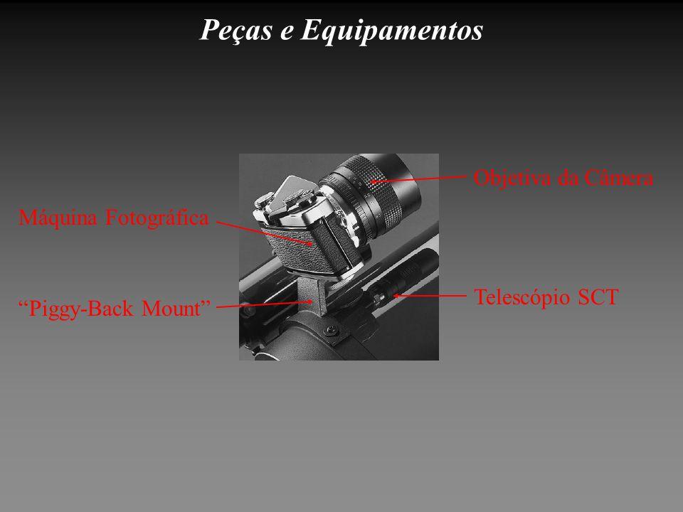 Peças e Equipamentos Máquina Fotográfica Piggy-Back Mount Objetiva da Câmera Telescópio SCT