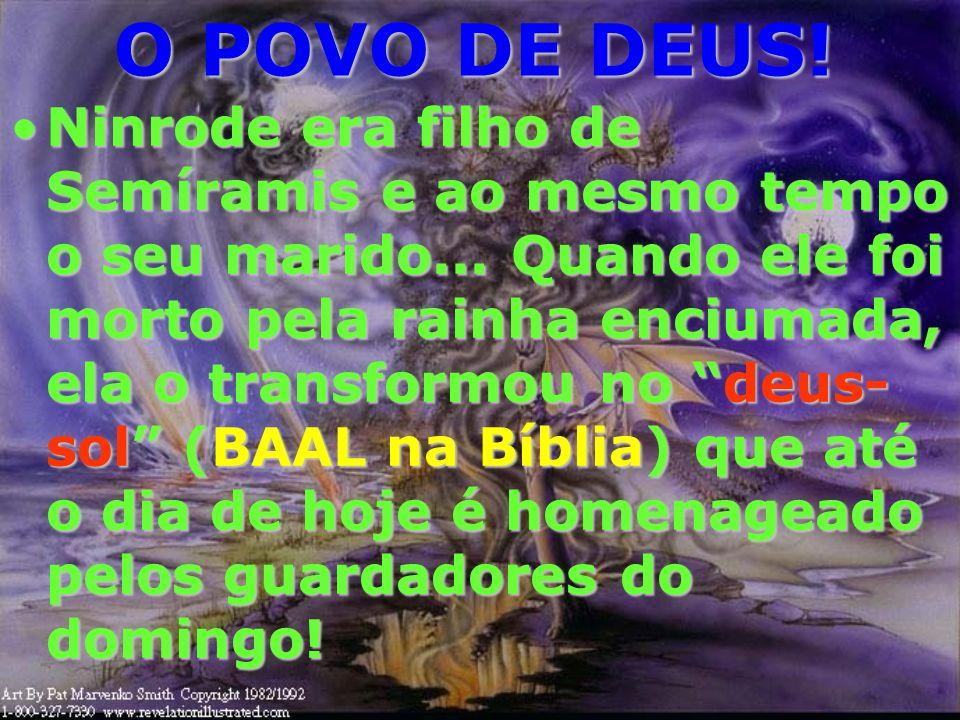 O POVO DE DEUS! 9 E os reis da terra, que com ela se prostituíram e viveram em delícias, sobre ela chorarão e prantearão, quando virem a fumaça do seu