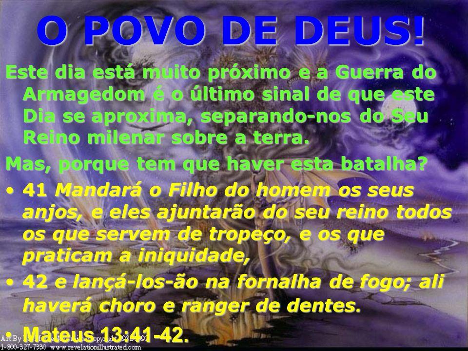 O POVO DE DEUS! Israel havia se endurecido nos dias apostólicos para dar espaço aos gentios (nós). Porém, Israel crê e ainda espera o Messias. Todavia