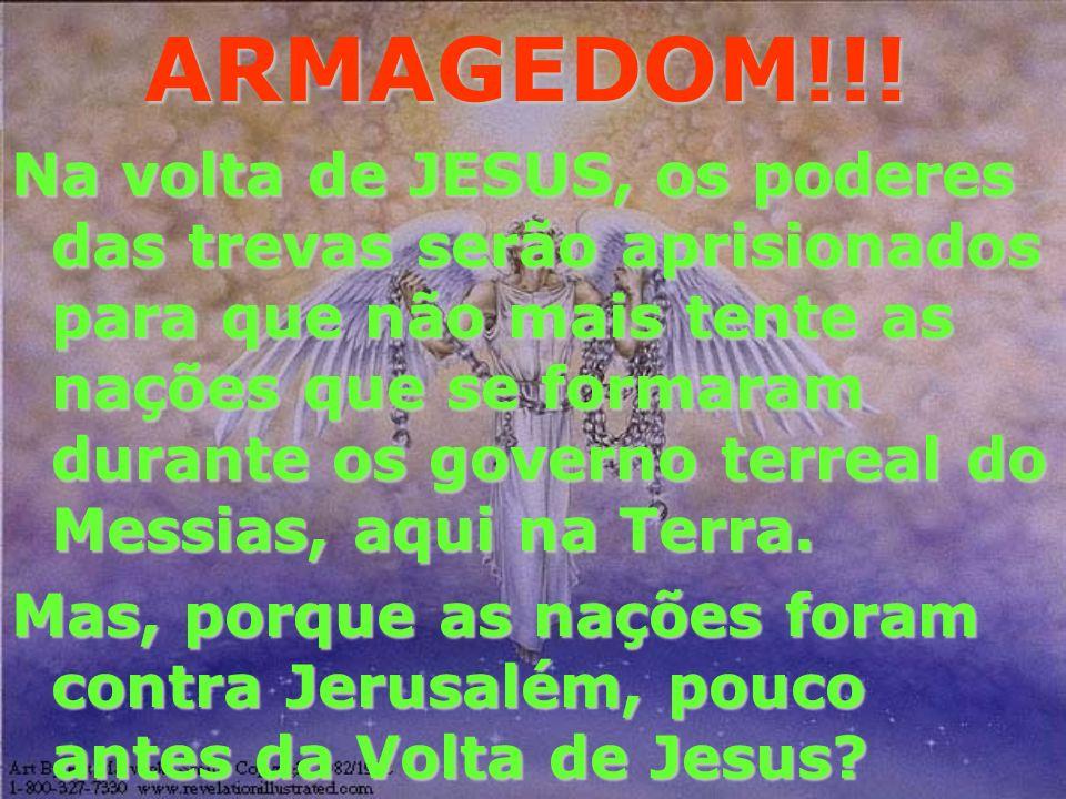 ARMAGEDOM!!! 24 Então virá o fim quando ele entregar o reino a Deus o Pai, quando houver destruído todo domínio, e toda autoridade e todo poder.24 Ent