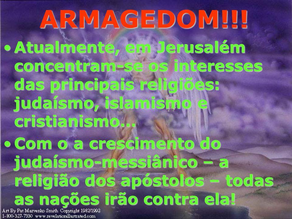 ARMAGEDOM!!! Na volta de JESUS, os poderes das trevas serão aprisionados para que não mais tente as nações que se formaram durante os governo terreal