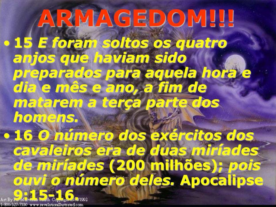 ARMAGEDOM!!! Portanto....Portanto.... A Guerra contra Israel e Jerusalém é antes de tudo uma guerra das potestades contra o próprio DEUS.A Guerra cont