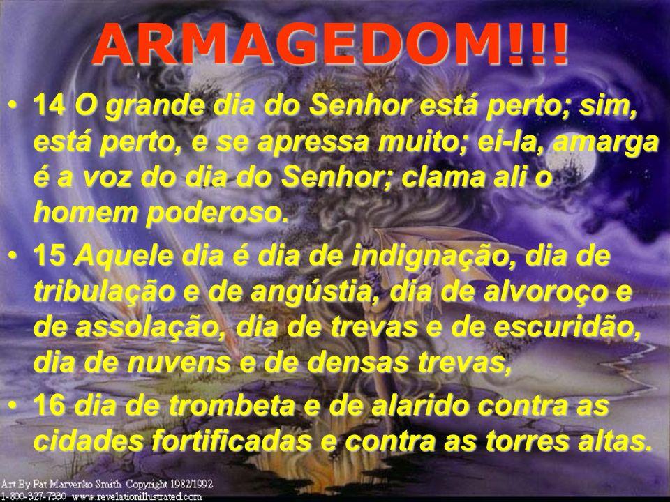 ARMAGEDOM!!! O Armagedom será somente entre Israel e os Árabes ou tomará conta do mundo?O Armagedom será somente entre Israel e os Árabes ou tomará co