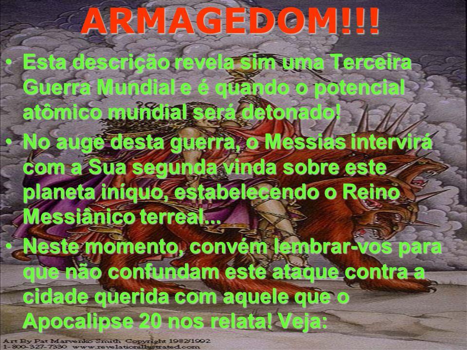 ARMAGEDOM!!! Portanto esperai-me a mim, diz o Senhor, no dia em que eu me levantar para o despojo; porque o meu intento é ajuntar nações e congregar r