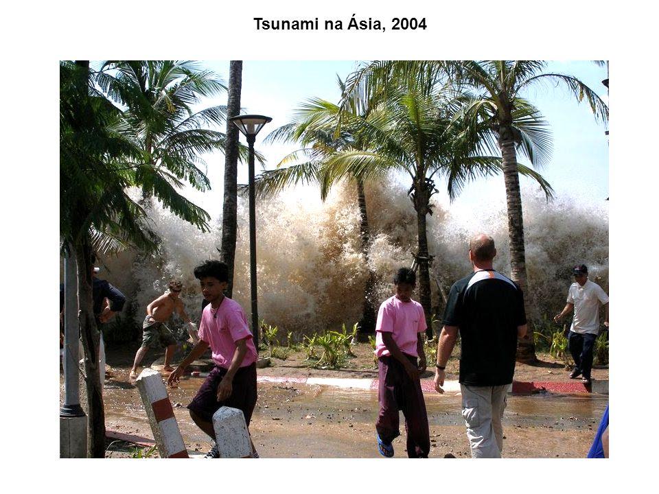 Tsunami na Ásia, 2004