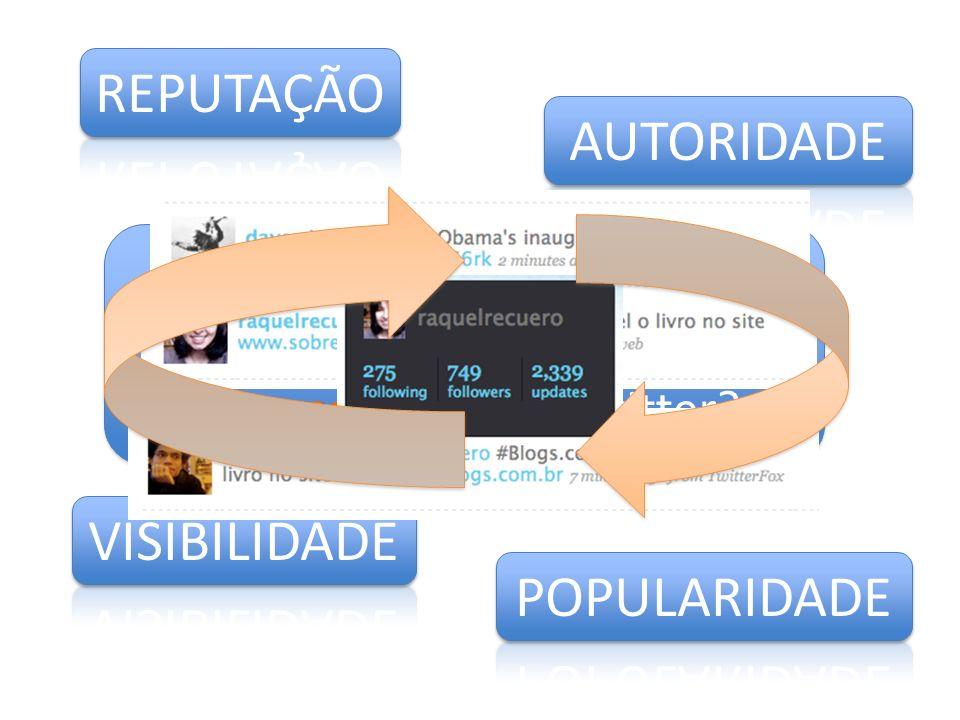 informacional Quais valores podemos observar nesse uso informacional do Twitter?