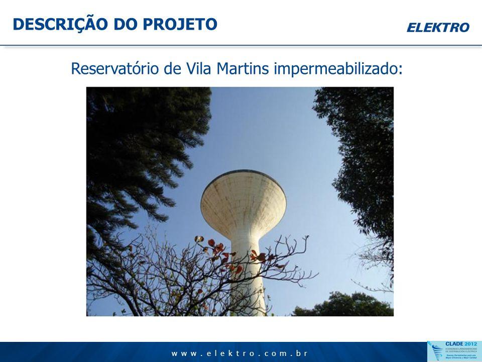 www.elektro.com.br DESCRIÇÃO DO PROJETO www.elektro.com.br Atuadores e fins de curso nas válvulas: