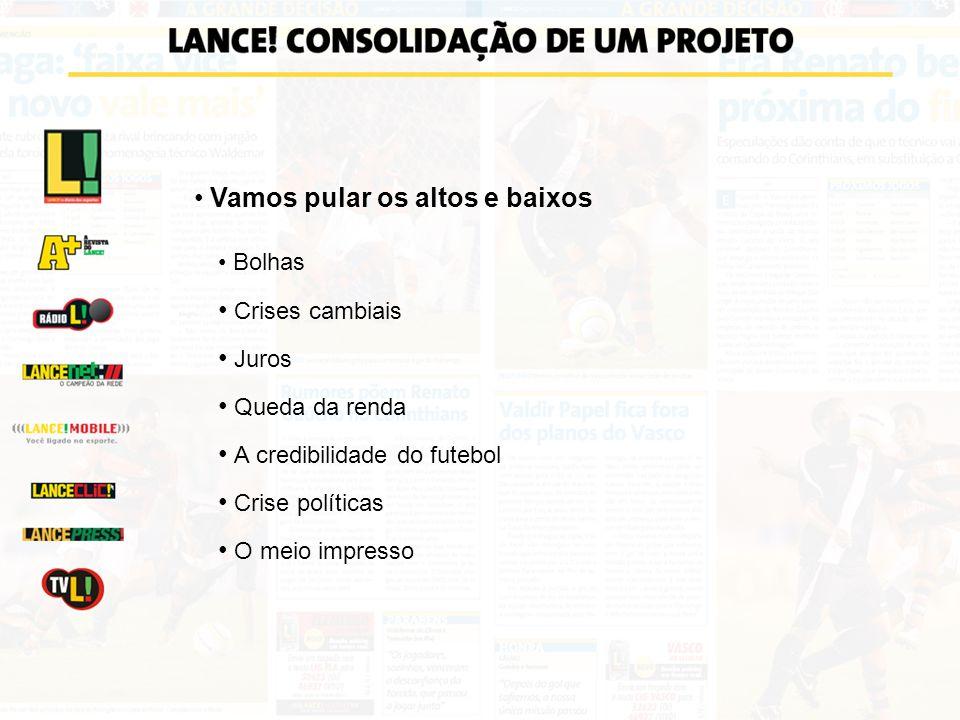 PERFIL DO LEITOR DO LANCE! Fonte: Marplan - Consolidado 2005