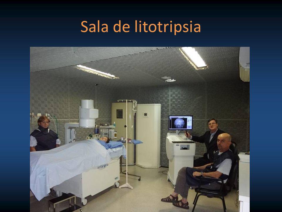 Sala de litotripsia