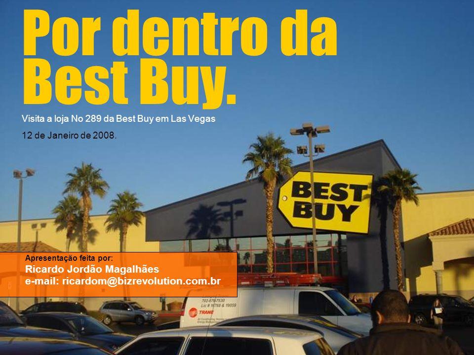 Por dentro da Best Buy. Visita a loja No 289 da Best Buy em Las Vegas 12 de Janeiro de 2008. Apresentação feita por: Ricardo Jordão Magalhães e-mail: