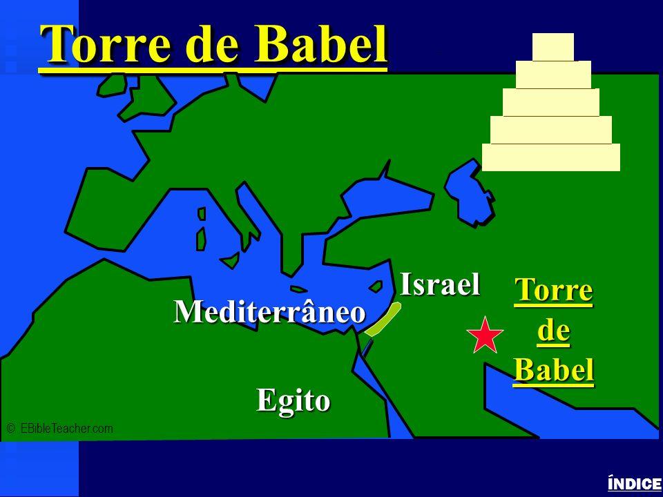 Abrahams Journey ÍNDICE Viagens de Abraão © EBibleTeacher.com Mediterrâneo Egito Harã & Ur dos Caldeus (Iraque) Canaã