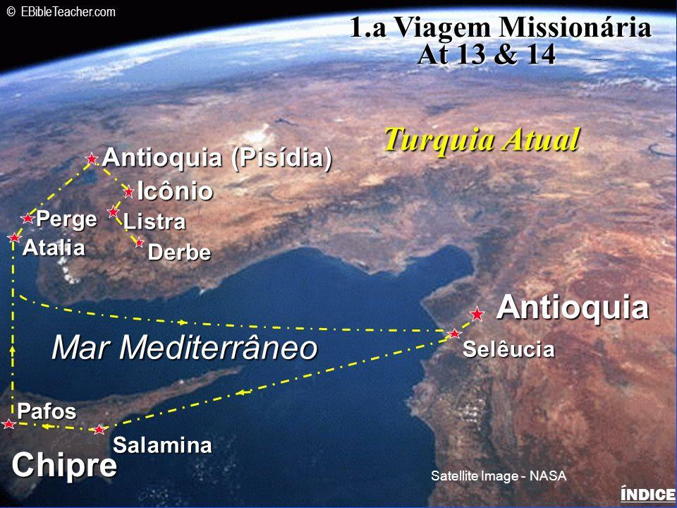 Paul-2nd Missionary Journey ÍNDICE Israel 2a.