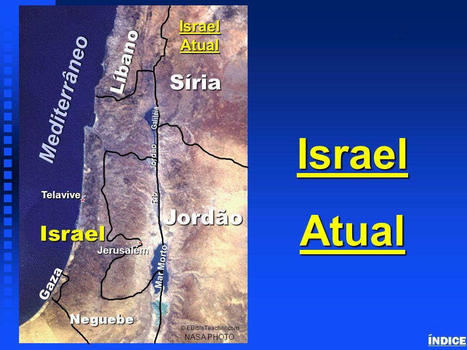 NASA Photo © EBibleTeacher.com Use para fazer seu próprio mapa. Sinai/Egypt Blank Map ÍNDICE
