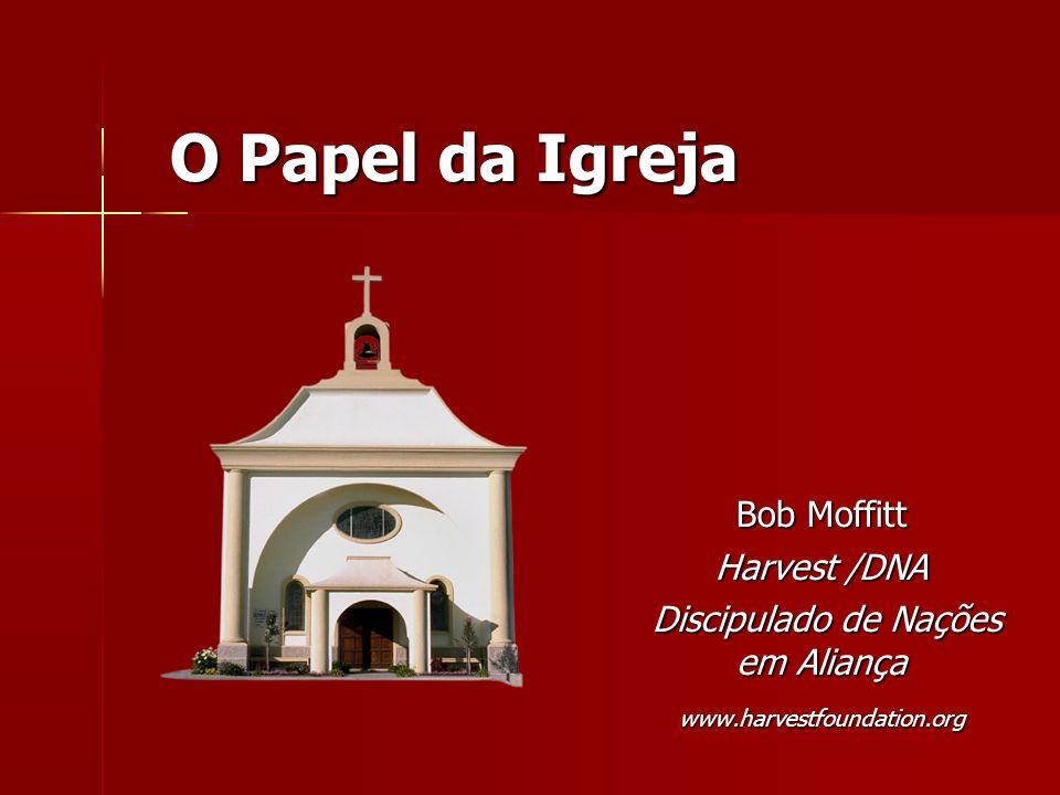 O Papel da Igreja Bob Moffitt Harvest /DNA Discipulado de Nações em Aliança Discipulado de Nações em Aliançawww.harvestfoundation.org