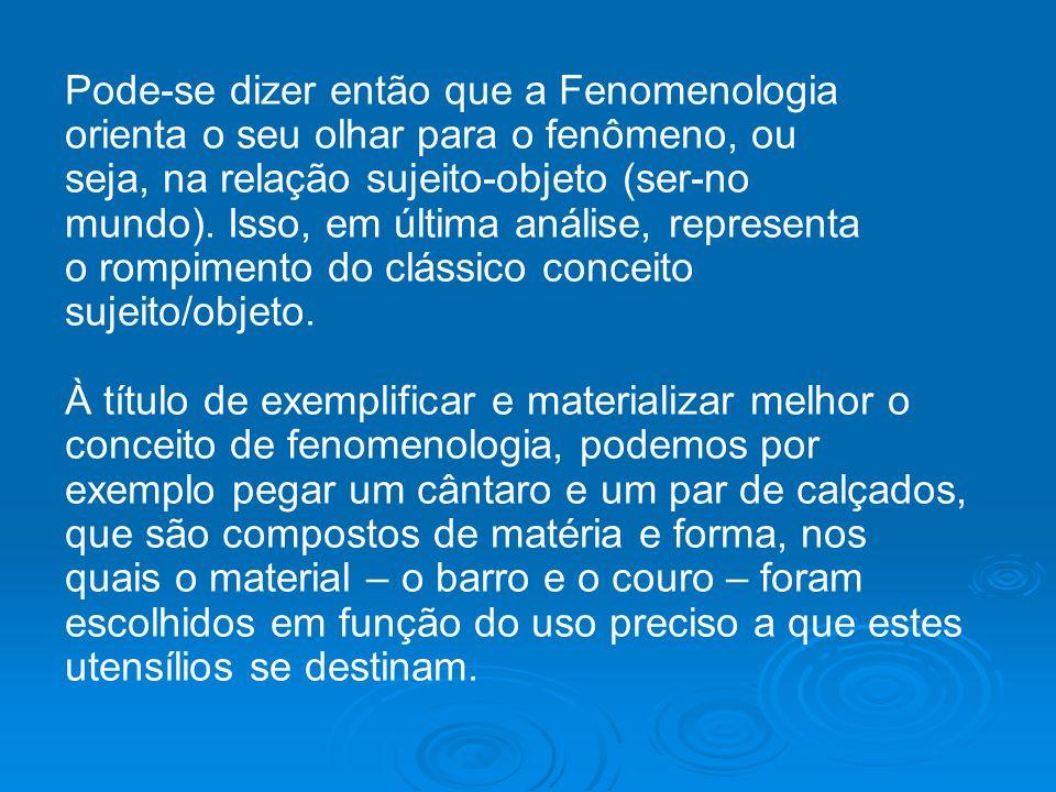 EQUIPE 4 – TEMA: FENOMENOLOGIA INTEGRANTES: Adriano Andrêssa F.