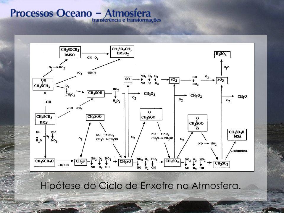 Hipótese do Ciclo de Enxofre na Atmosfera.