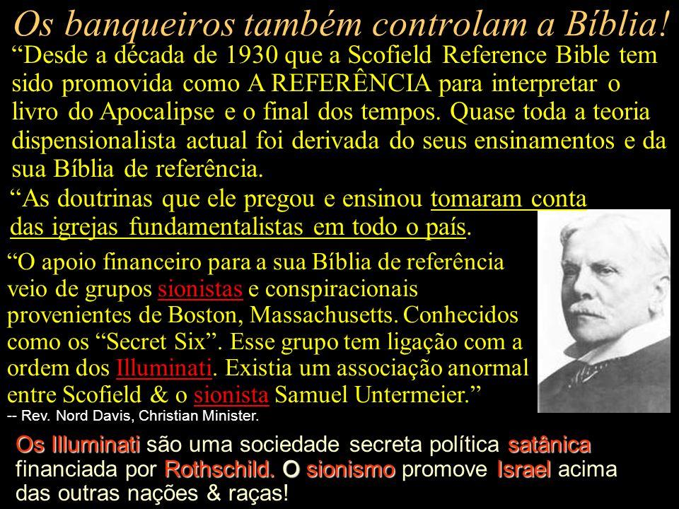 Os banqueiros int. também controlam as igrejas! Rockefellers penetrarIgrejas cristãs John Foster Dulles controlotodos os aspectos da vida da igrejaJos