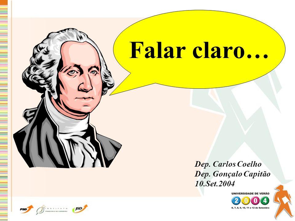 FALAR, CLARO 9 Notas Prévias 15 Conselhos para quem vai falar FALAR CLARO