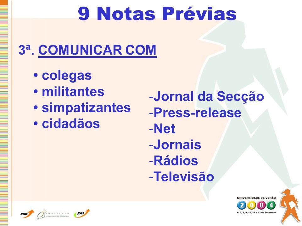 15 Conselhos 4.NÃO IGNORAR A AUDIÊNCIA Discursar é comunicar = falar com 5.