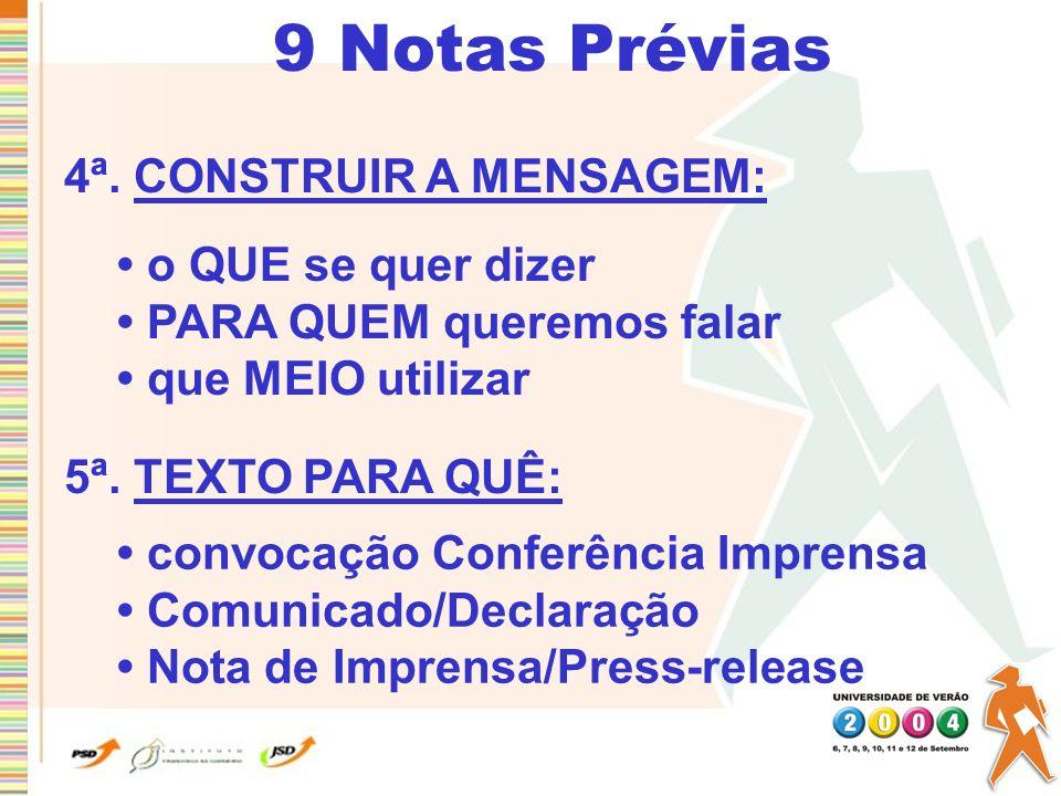9 Notas Prévias 6ª.