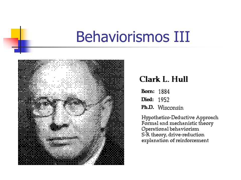 Behaviorismos III