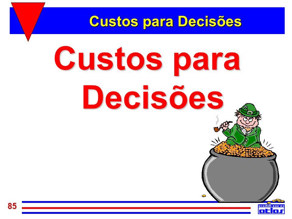 85 Custos para Decisões