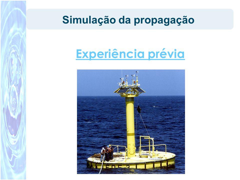 Simulação da propagação Experiência prévia