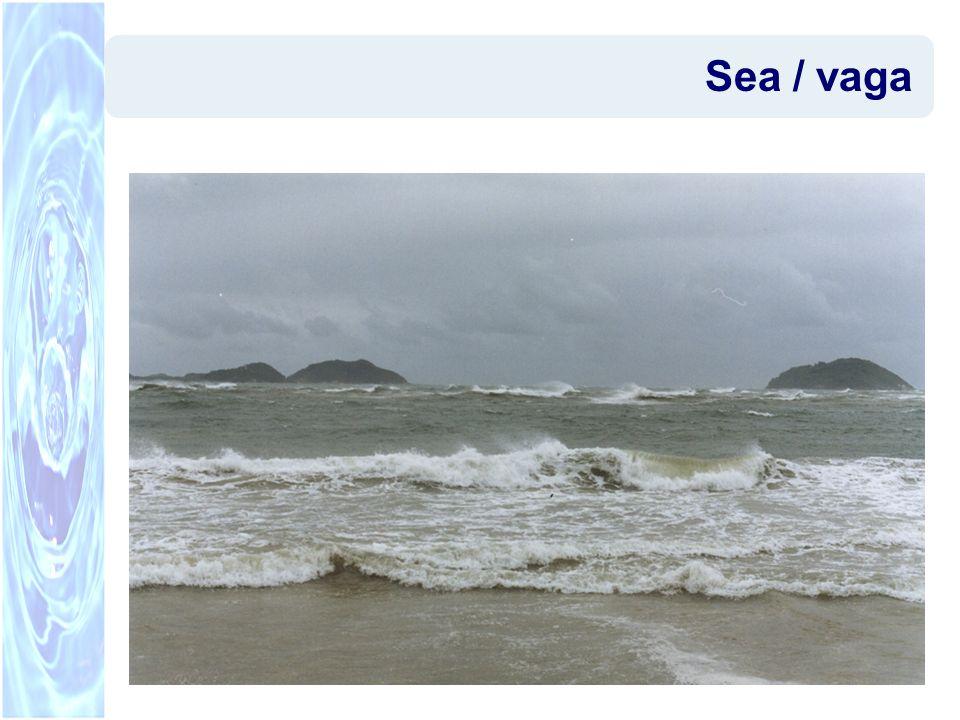 Modelos de escala regional Escala O(10 km ~100 km) –Modelos espectrais (STWAVE, SWAN) –Processos dominantes: forçamento pelo vento, interações onda-onda, whitecapping, refração, arrebentação –Assumem que as propriedades da onda variam de forma suave em distâncias da ordem do comprimento de onda –Representam formas eficientes de simular a propagação/geração das ondas em mar aberto