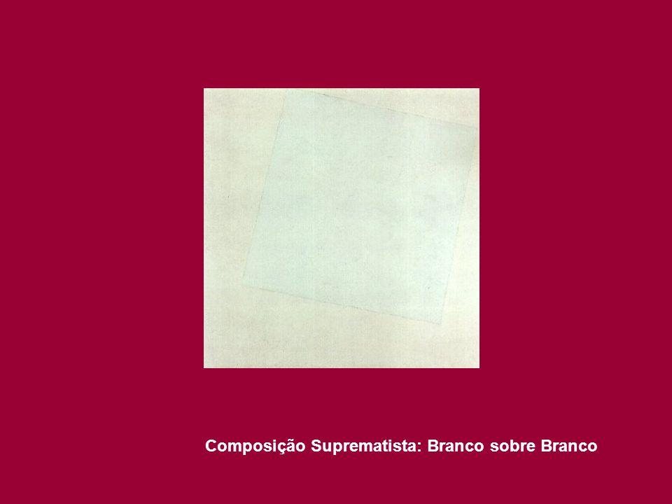 Composição Suprematista: Branco sobre Branco